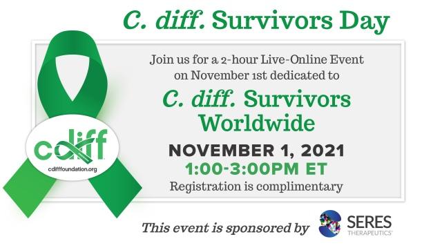 C. diff. Survivors Day Live-Online Symposium 2021