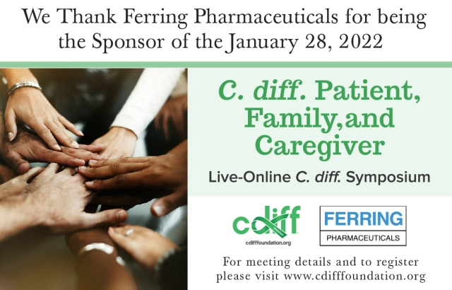 2022 Thanks Patient and Family C. diff. Symposium Sponsor